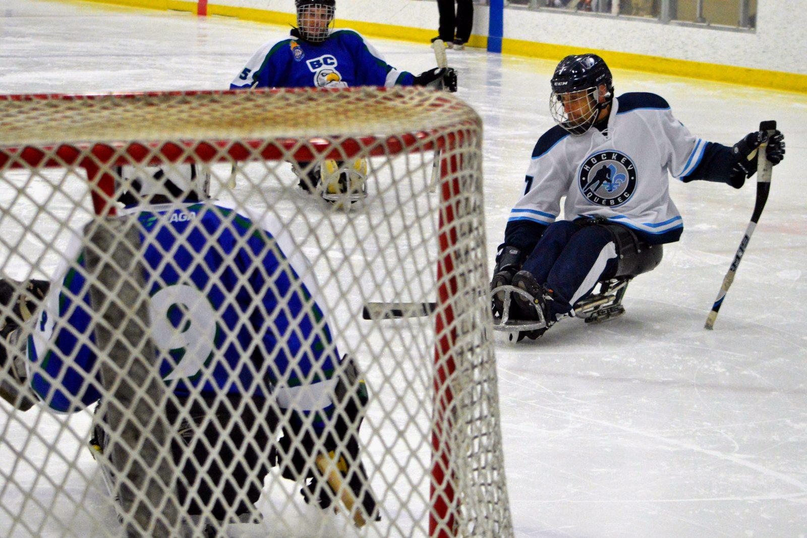 Championnat canadien de hockey sur luge à Boucherville du 12 au 14 mai