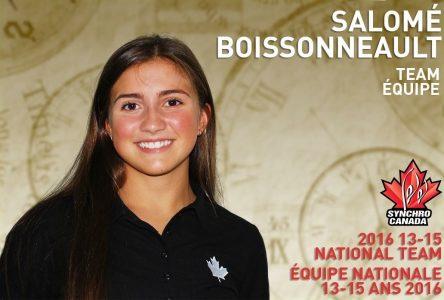 Une bourse remise à Salomé Boissonneault de l'école secondaire De Mortagne
