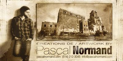 Vernissage de l'artiste Pascal Normand à la maison Lenoblet-du-Plessis à Contrecoeur