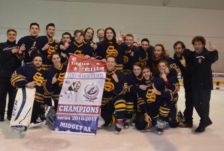 Les Seigneurs de Boucherville Midget AA remportent le championnat du Richelieu