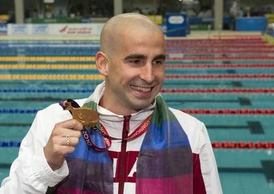 Le nageur paralympique longueuillois Benoit Huot nommé Chef de Mission adjoint des Jeux du Commonwealth de 2018