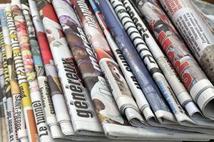 Transcontinental inc. met en place un processus visant la vente de ses journaux locaux et régionaux du Québec et de l'Ontario