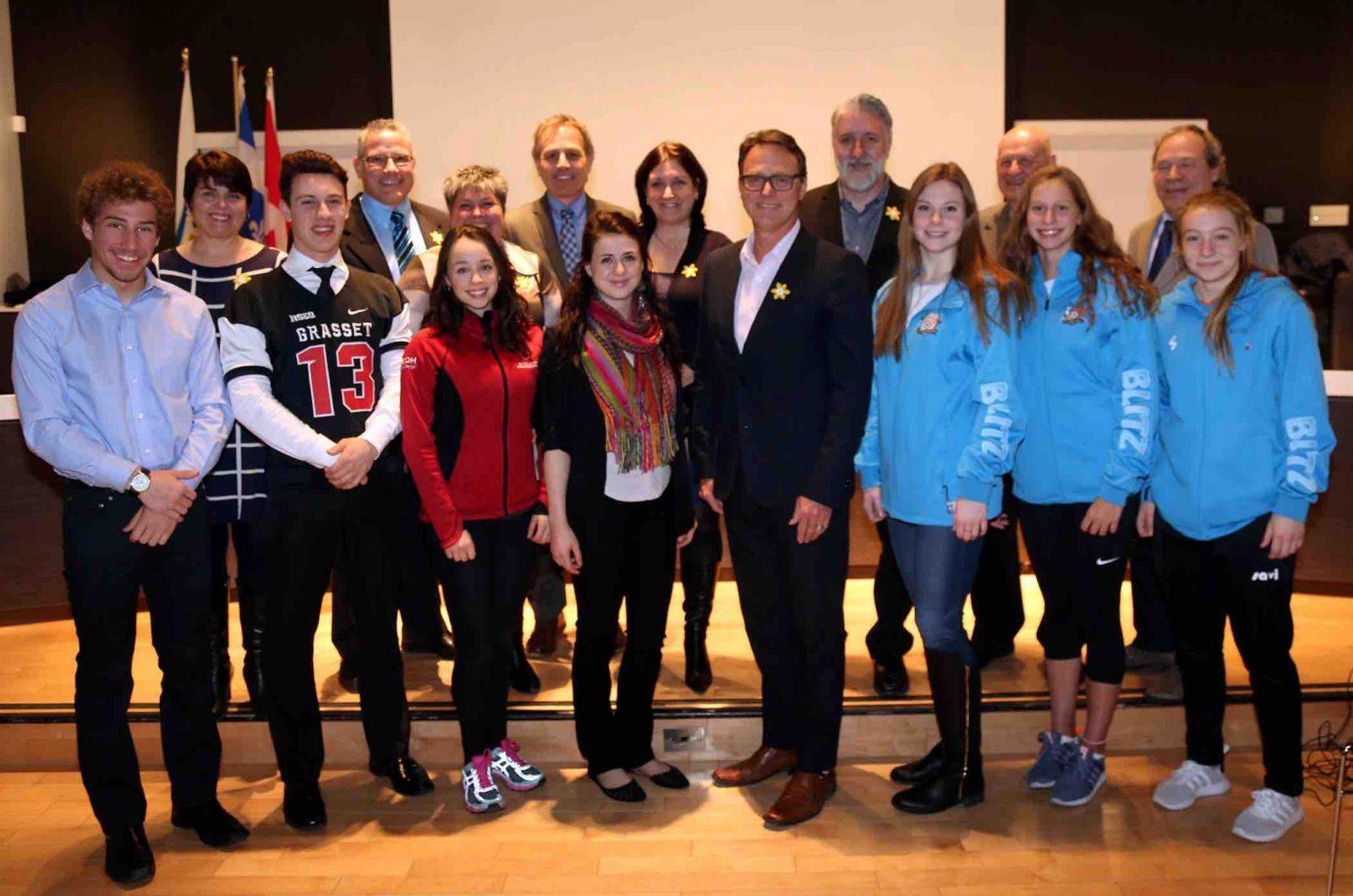 Des jeunes Varennois encouragés par le conseil municipal