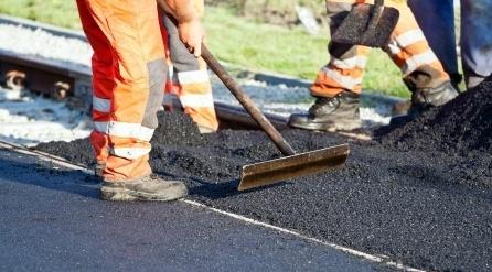 Nouveau chantier d'asphaltage à Calixa-Lavallée