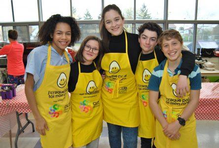 Cinq jeunes comédiens deviennent les ambassadeurs du Club des petits déjeuners
