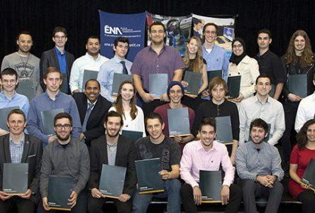 La Fondation du cégep Édouard-Montpetit récompense 28 étudiants de l'ÉNA