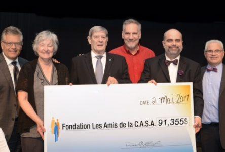 Près de 300 personnes participent au souper-bénéfice de la Fondation Les Amis de la C.A.S.A.