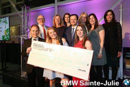 33 000 $ amassés pour l'agrandissement du centre de naissance de l'Hôpital Pierre-Boucher