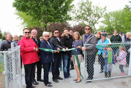 Inauguration du jardin communautaire à Contrecoeur
