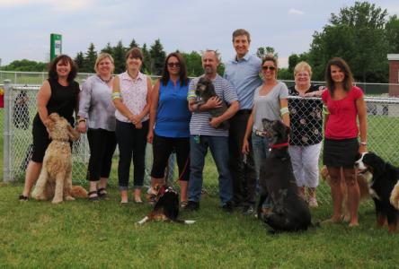 Le parc canin de Verchères est officiellement ouvert!