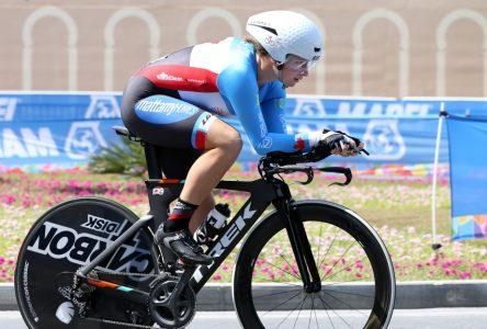 Laurie Jussaume représentera le Canada aux Championnats du monde sur piste juniors en Italie