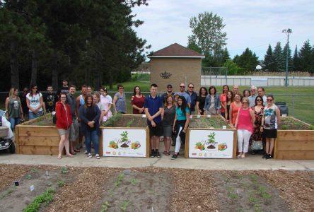 Inauguration du jardin collectif à Saint-Amable
