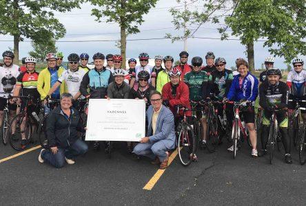 Varennes obtient une mention honorable dans le cadre du Mouvement vélosympathique de Vélo Québec