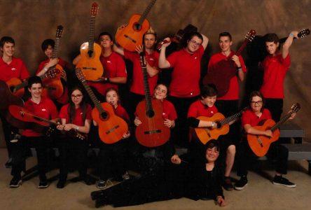 Le premier prix pour les élèves du profil guitare du Grand-Coteau à Sainte-Julie