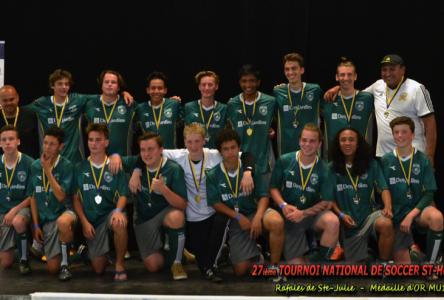 Mission accomplie: médaille d'or pour les Rafales de Sainte-Julie MU16-17A