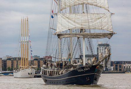 Rendez-Vous 2017: plus de 40 grands voiliers navigueront sur le fleuve jusqu'au 16 juillet