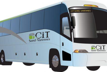 Nouveau: service d'autobus express à Contrecoeur!