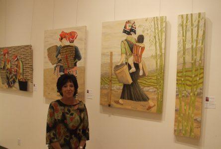 L'artiste-peintre Christiane Frigault inspirée par les voyages