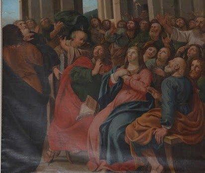Une œuvre d'art de la basilique de Varennes est exposée au Musée national des beaux-arts à Québec cet été