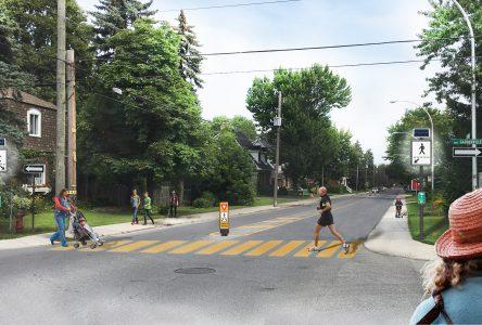 Une nouvelle traverse piétonne dans le quartier du Vieux-Longueuil