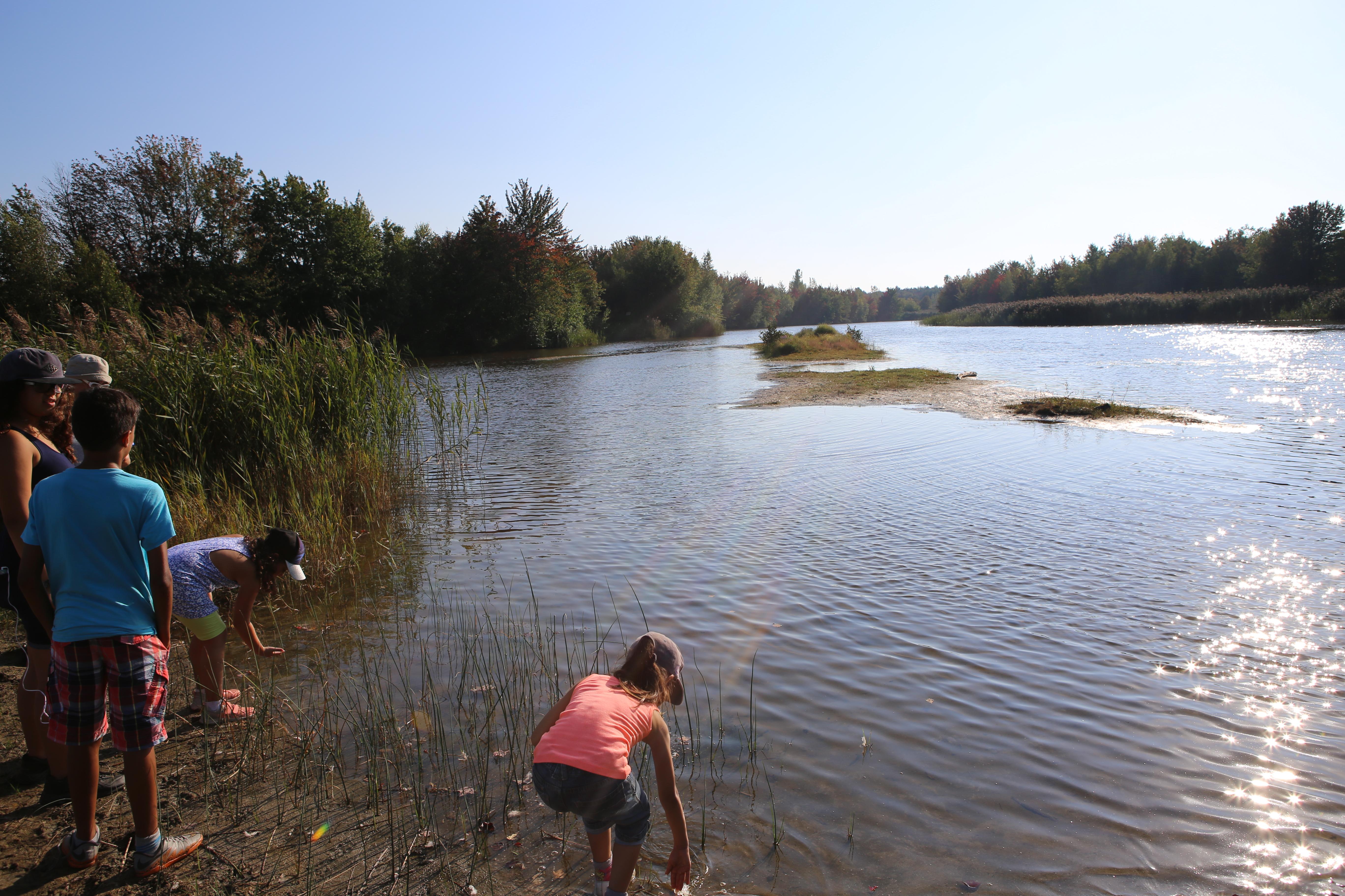 La population découvre un site d'interprétation de la nature unique… et méconnu!