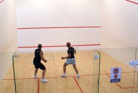 L'élite des joueurs de squash à Boucherville