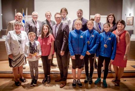 Jeunes sportifs varennois encouragés par le conseil municipal de Varennes