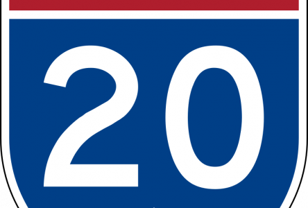 Fermeture complète de nuit de l'autoroute 20 du dimanche 10 septembre à 22 h au lendemain à 5 h