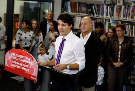 Visite du premier ministre Justin Trudeau dans Montarville