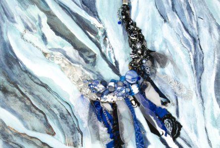 Exposition de l'artiste peintre Odette Michaud et de Fleurilège en novembre à la galerie Vincent-d'Indy