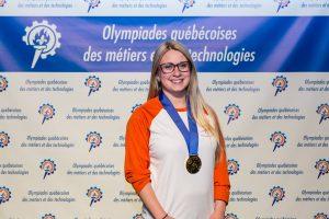 La Longueuilloise Daphné Héroux représente le Canada au Mondial des Métiers