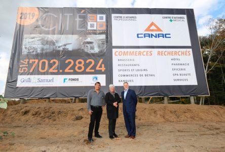 Le quincaillier Canac s'installe à Contrecoeur et crée 100 emplois