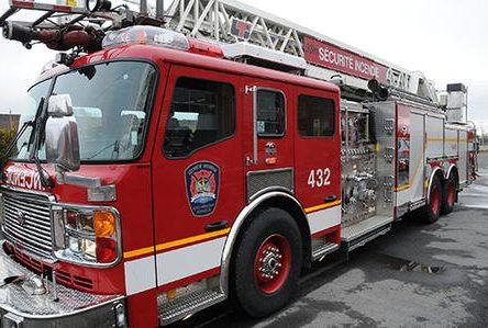 Quatre feux en 10 minutes à Boucherville