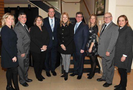 Assermentation officielle des membres du conseil municipal à Sainte-Julie