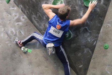 Sophie et Hugo Valence de retour du Championnat panaméricain junior d'escalade