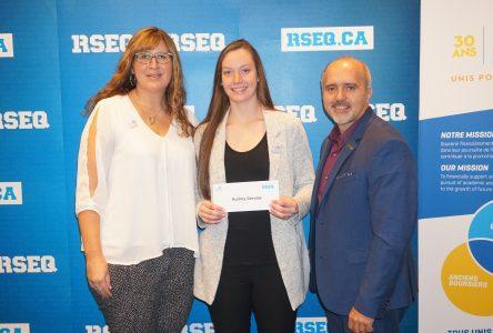 Audrey Gervais, hockey féminin, récipiendaire d'une bourse d'études de 2 000$