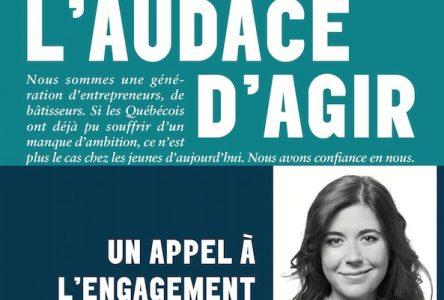 Un livre pour la plus jeune femme de l'histoire à siéger à l'Assemblée nationale du Québec
