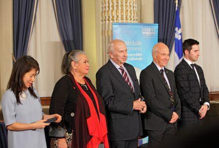 Ginette Reno reçoit la Médaille d'honneur de l'Assemblée nationale