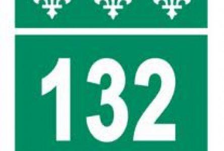 Une voie par direction sur la route 132 à Boucherville et à Varennes