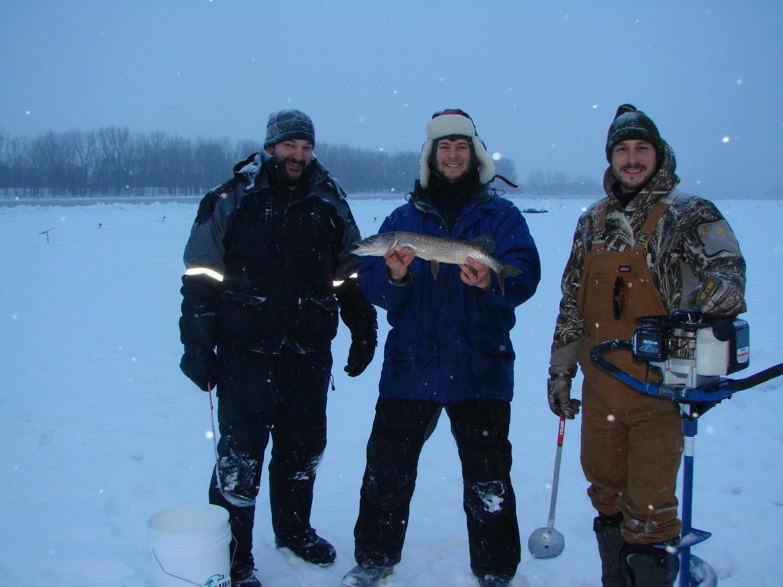 La pêche blanche à Boucherville; ça mord!