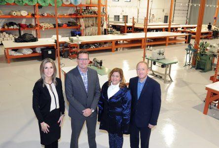 Porcupine Canvas investit 5,2 M $ dans son usine de production de Boucherville