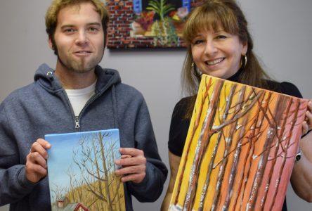 La peinture : un mode d'expression précieux pour l'artiste peintre Simon Clairoux