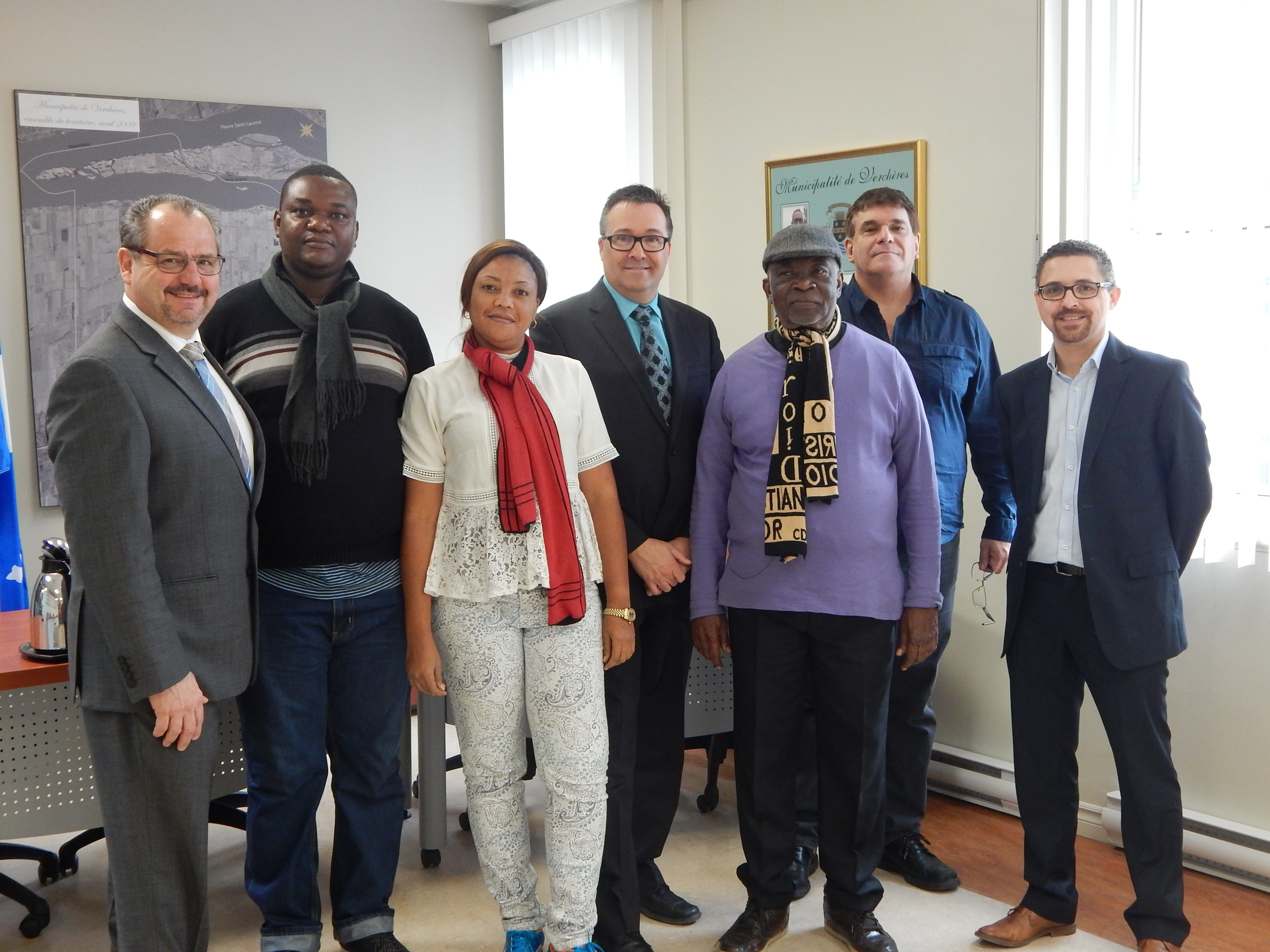 La MRC de Marguerite-D'Youville reçoit  une délégation de la République démocratique du Congo