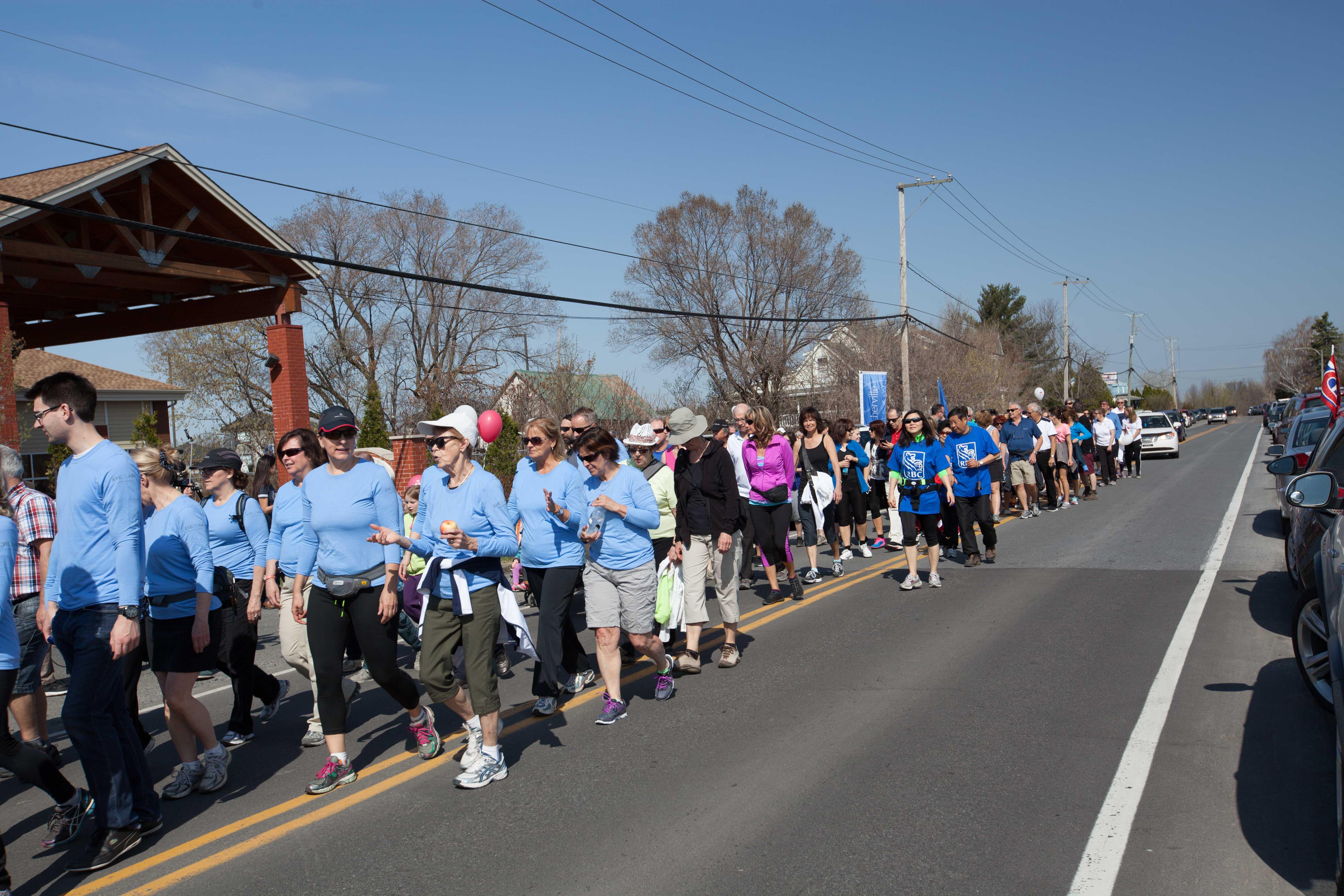 La marche Source Bleue de retour le dimanche 6 mai
