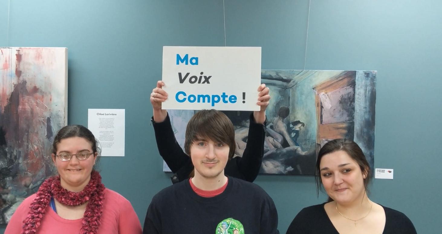 Les jeunes expriment leurs aspirations à travers le mouvement Ma Voix Compte!