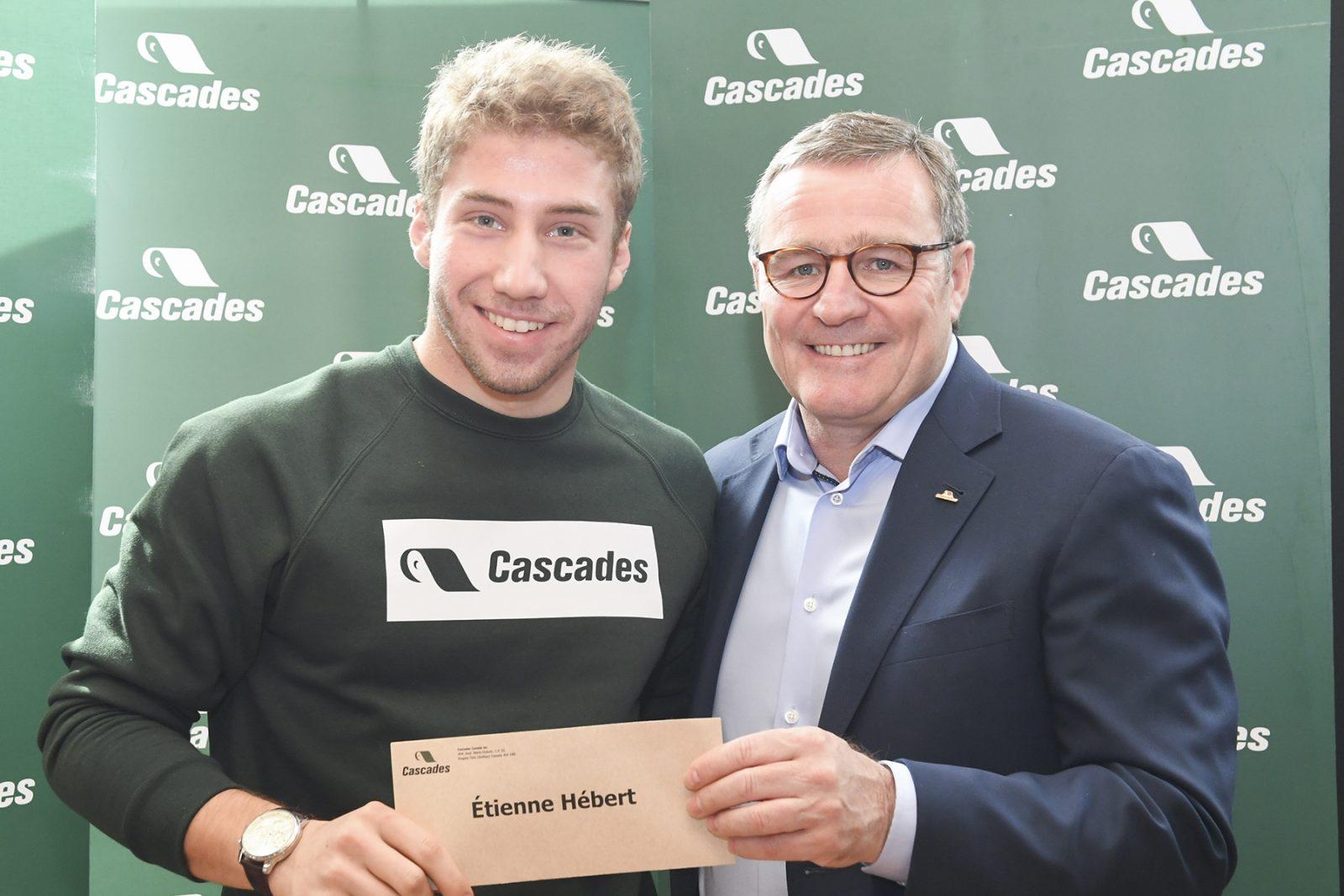 Le Varennois Étienne Hébert rêve de participer aux Jeux olympiques en ski de fond