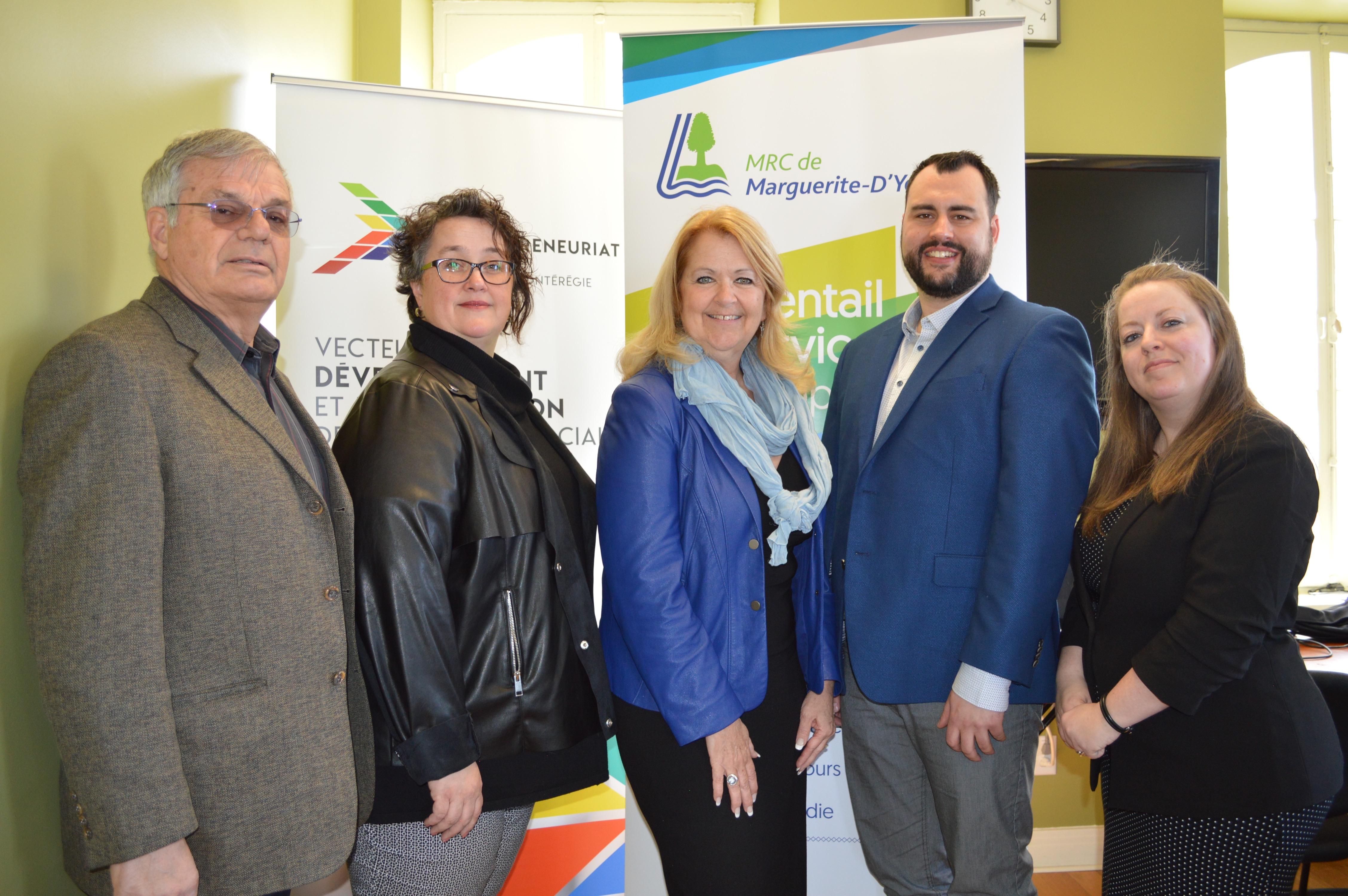 Deux entreprises de la MRC de Marguerite-D'Youville se partagent 10 000 $ en bourses