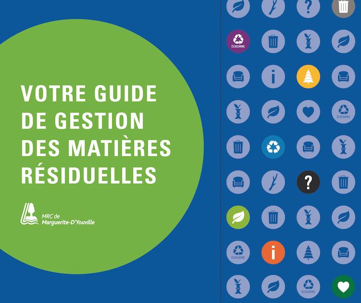 Nouveau guide de gestion des matières résiduelles : Mieux gérer vos matières en quelques clics