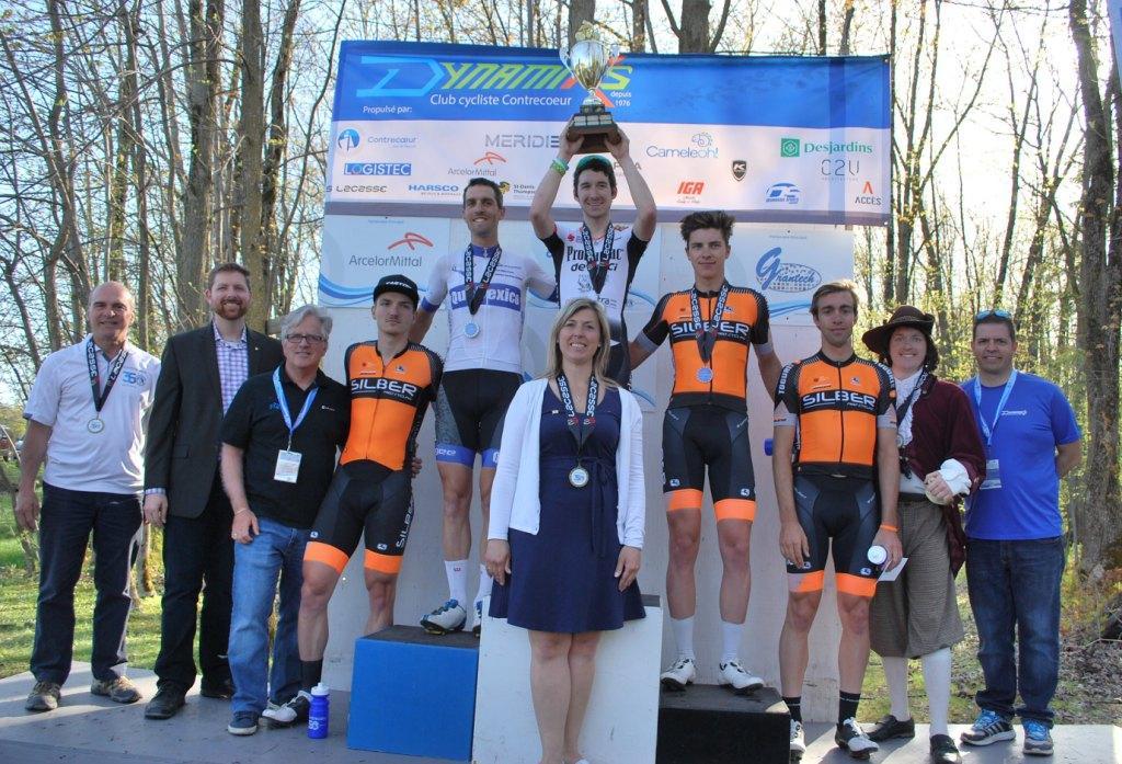Grand Prix Cycliste Dynamiks : nombre record de cyclistes pour l'édition du 350e anniversaire de Contrecoeur