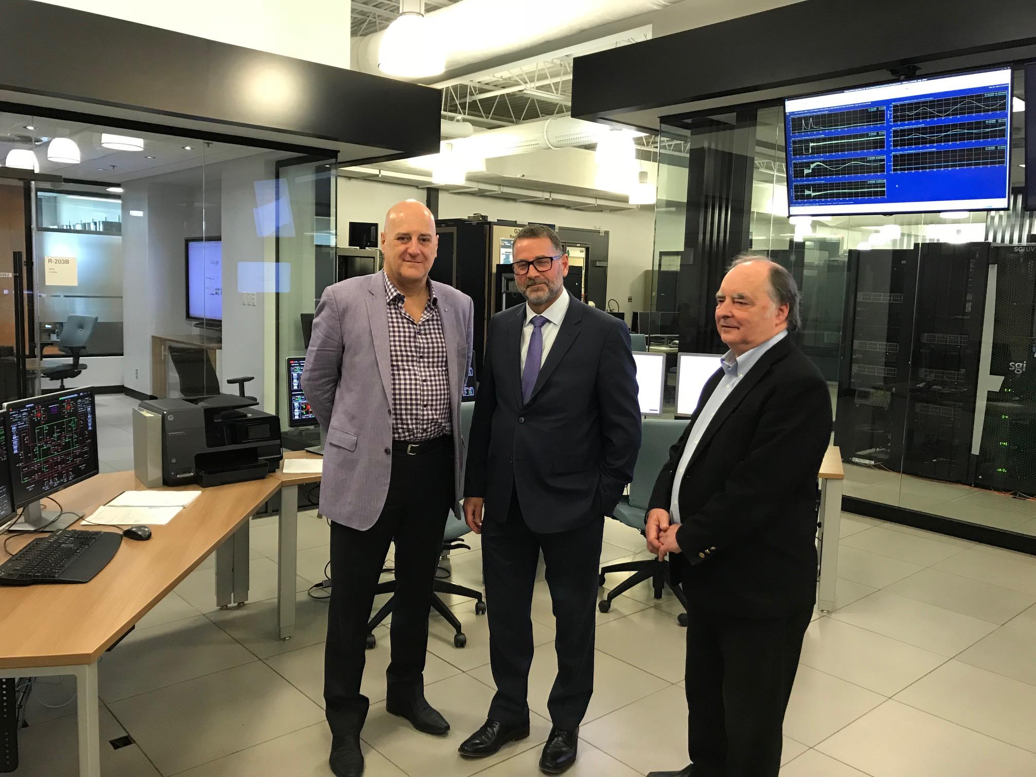 Un investissement de 949 000 $ dans les réseaux intelligents de nouvelle génération à Varennes